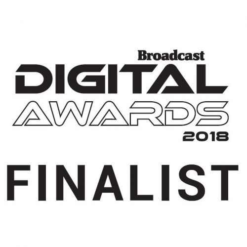The Pets Factor Shortlisted at Broadcast Digital Awards
